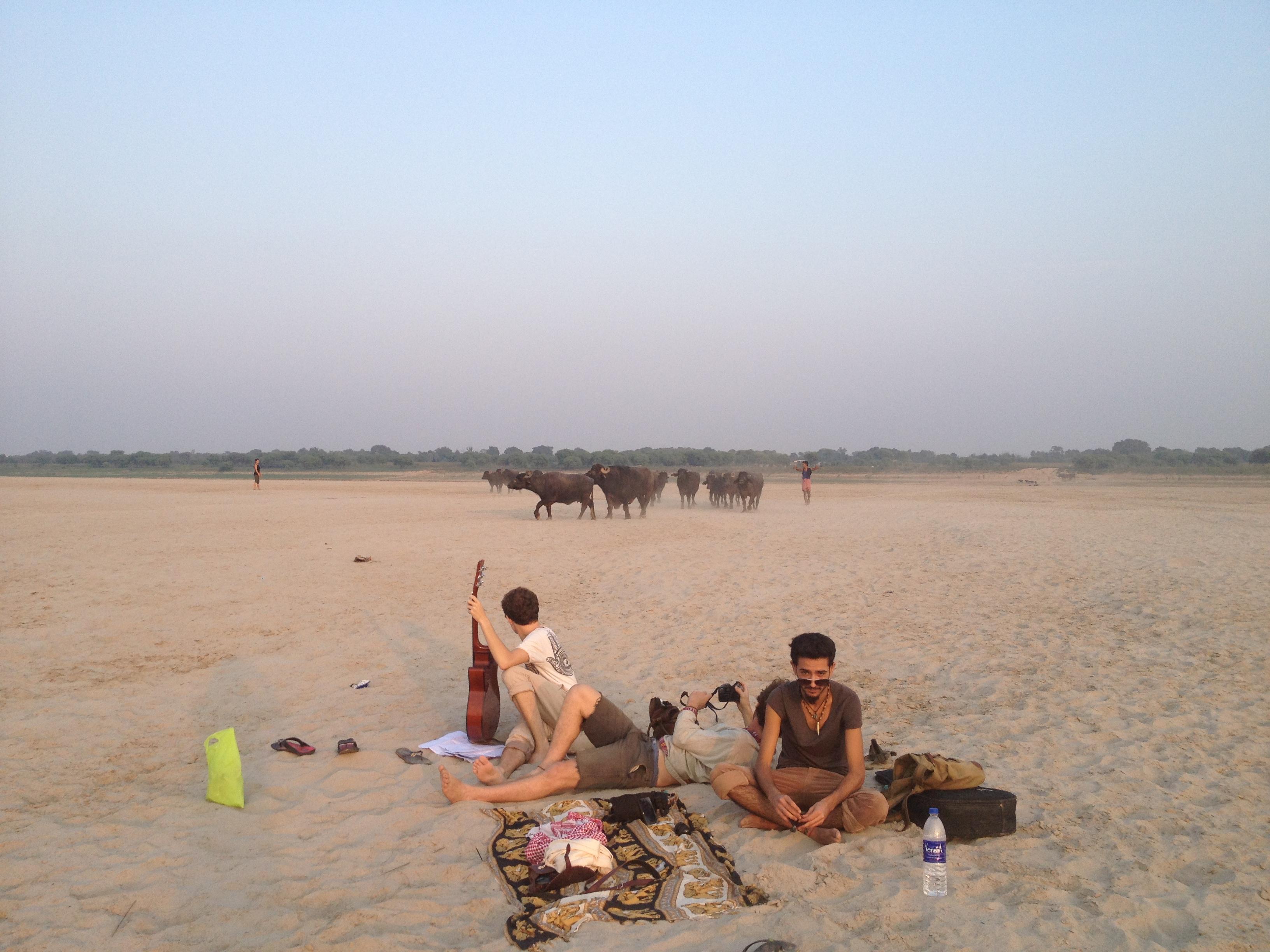 Varanasi other side