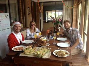 Oz Xmas brunch