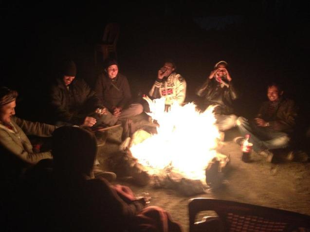 pangong fire