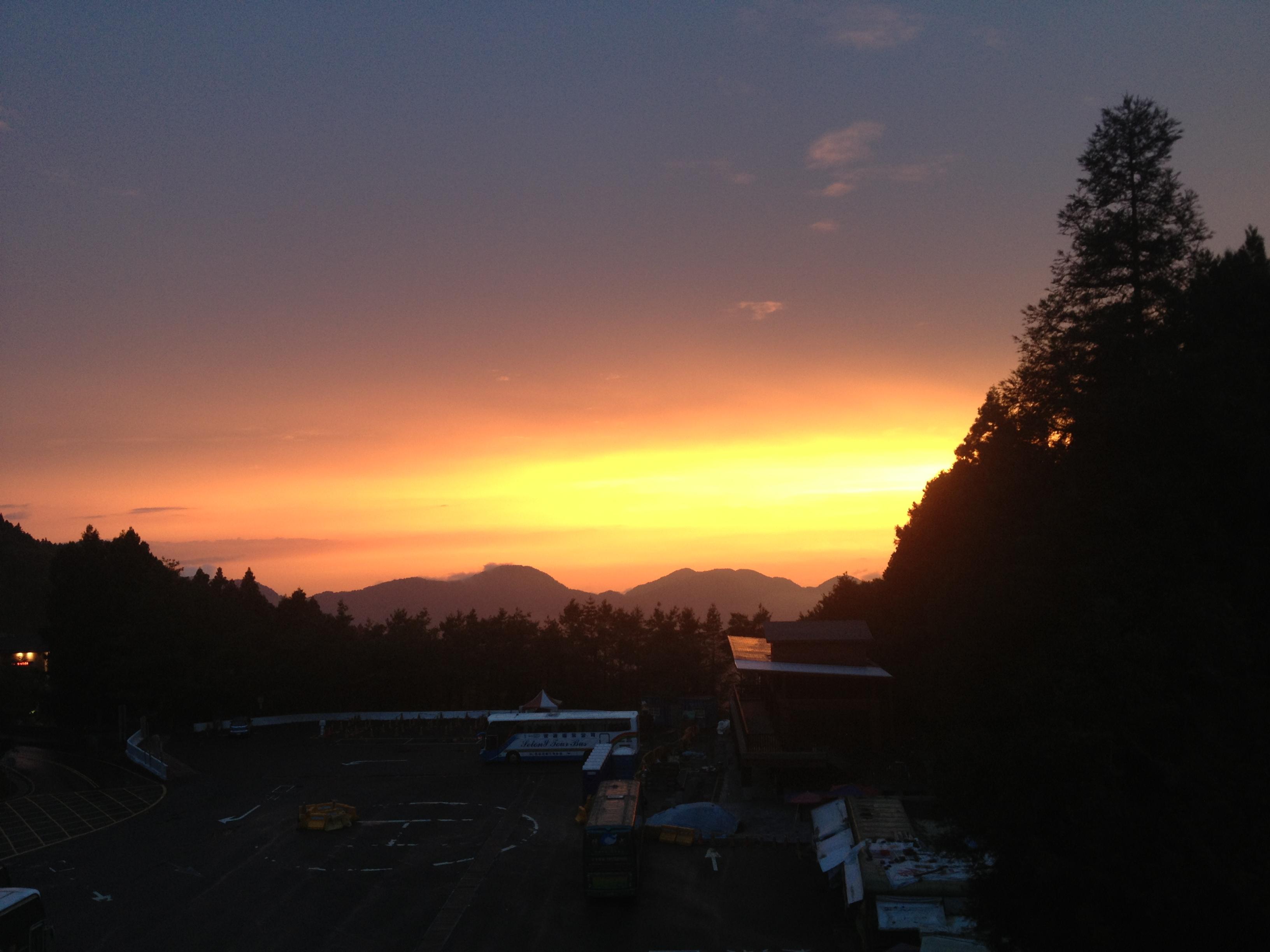 Taiwan sunset
