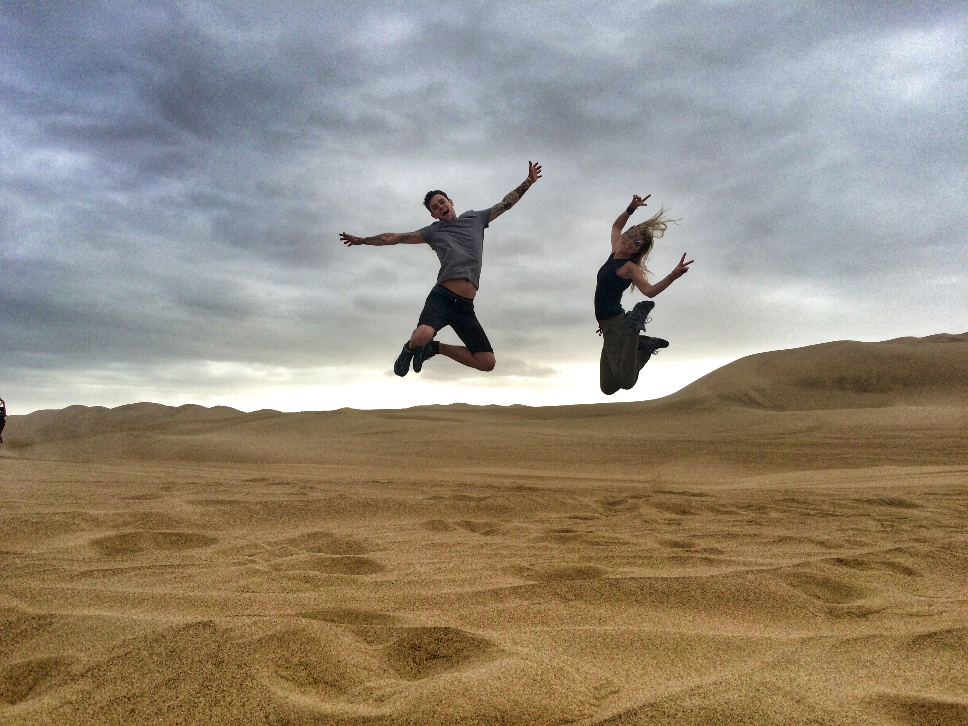 sand jumps