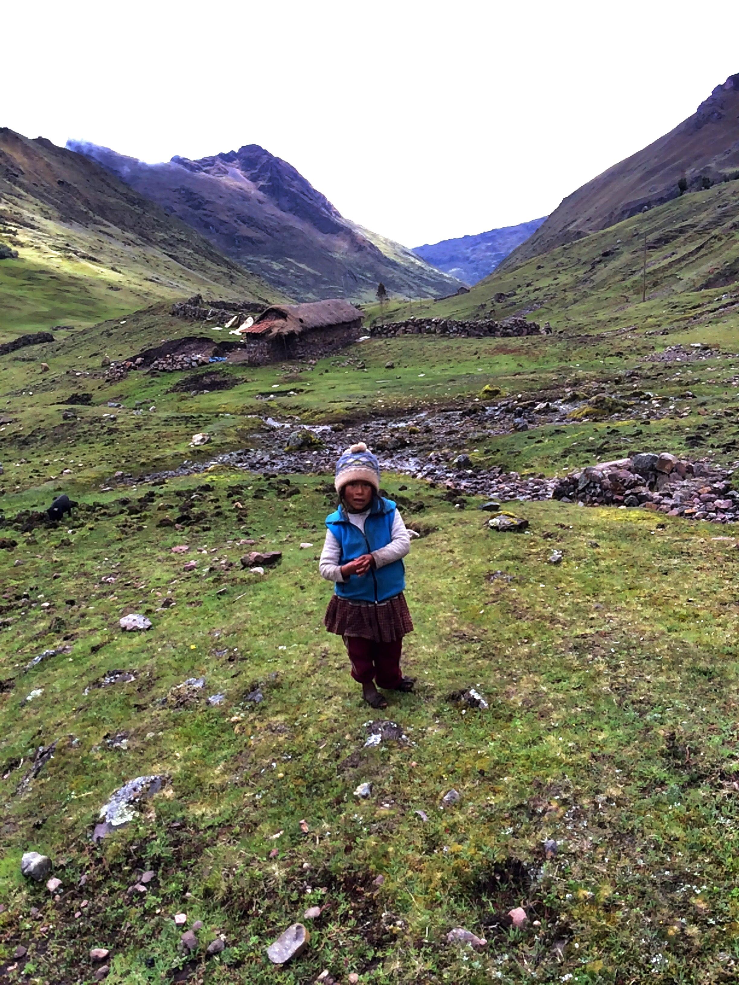 Girl on Lares Trek