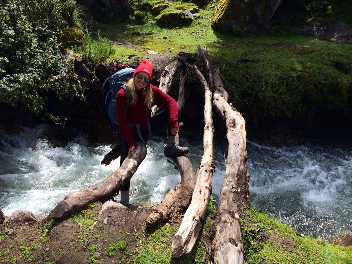 Lares river crossing