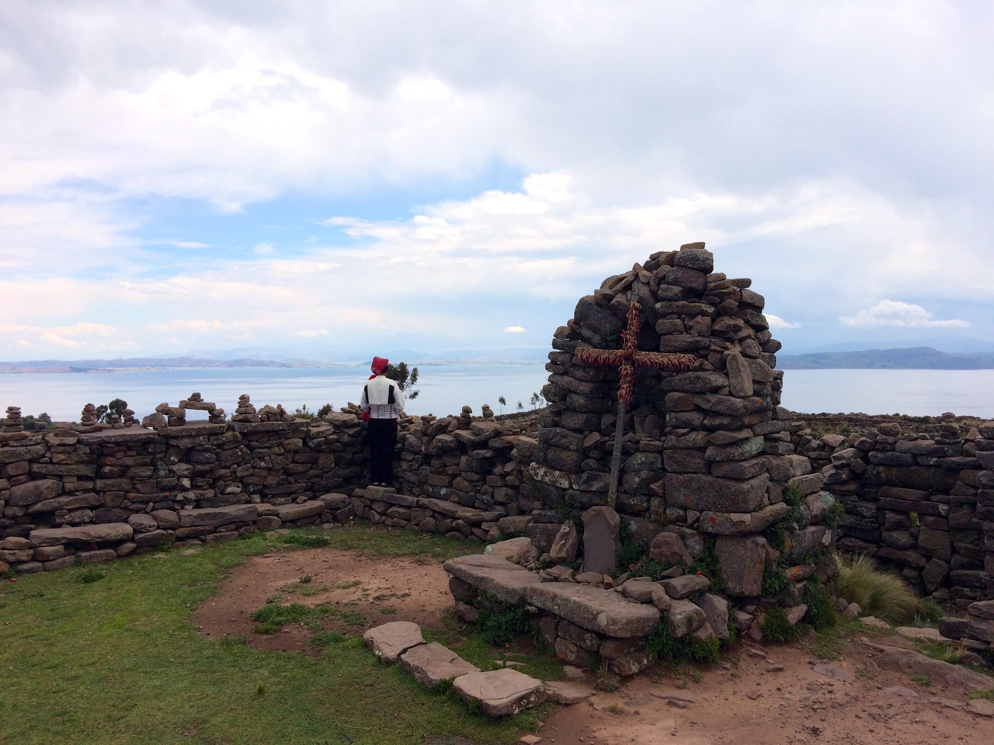 Taquile cross