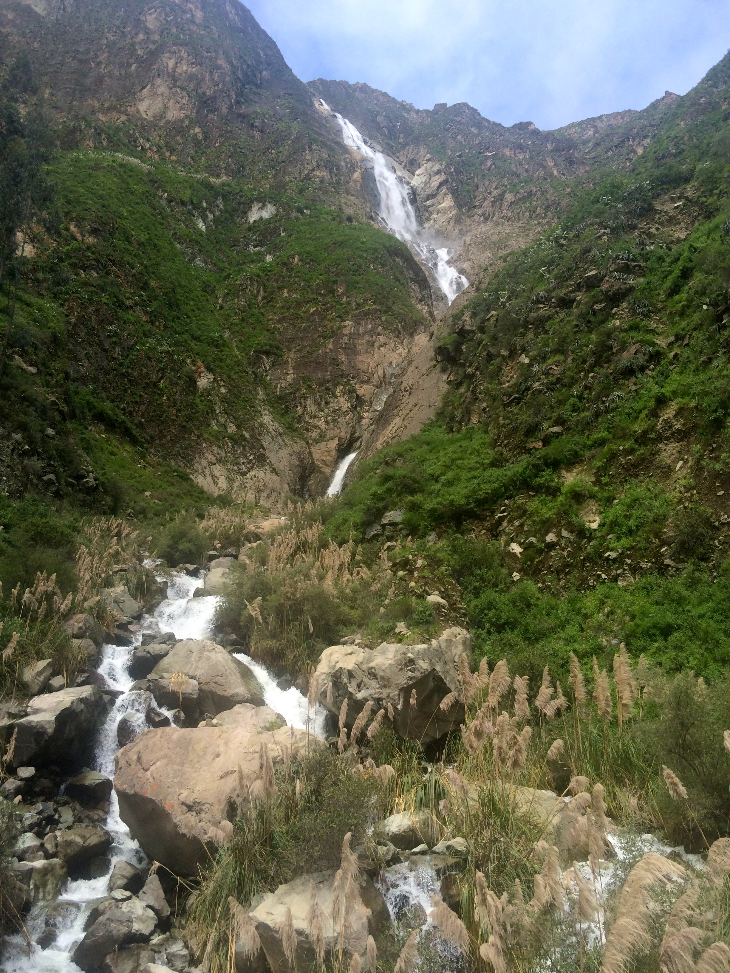 El fure waterfall