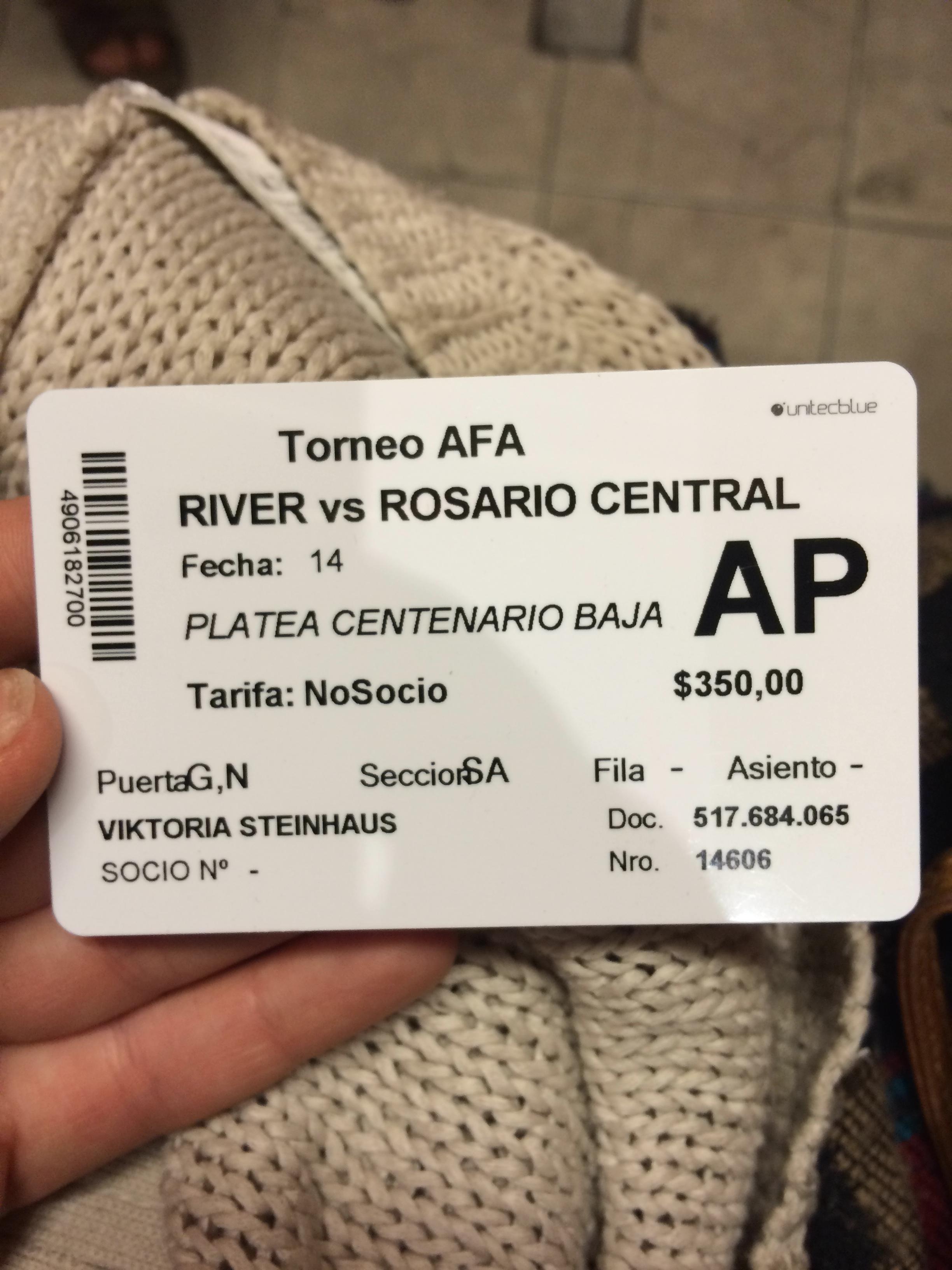 BA futbol card