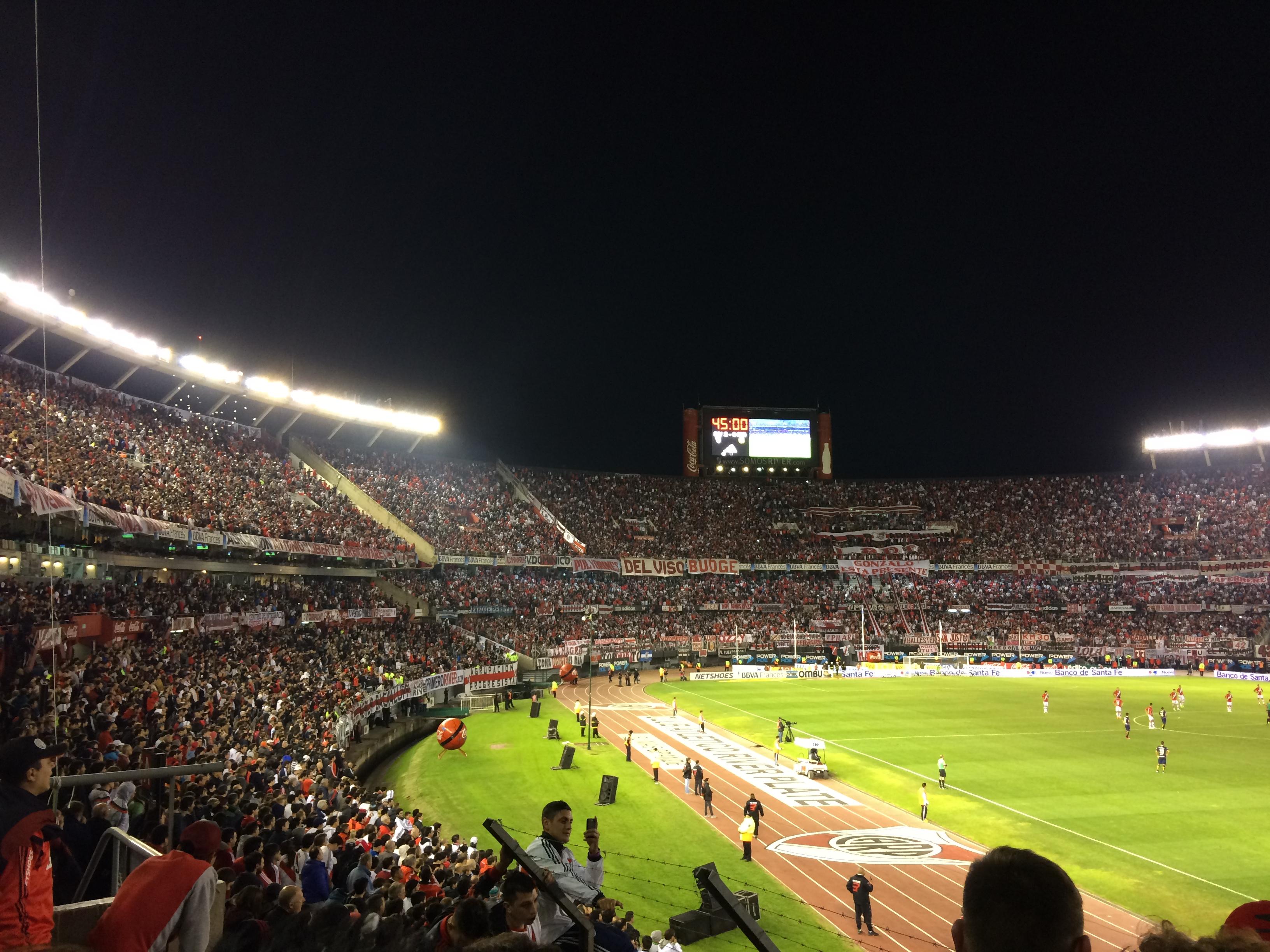 BA futbol match