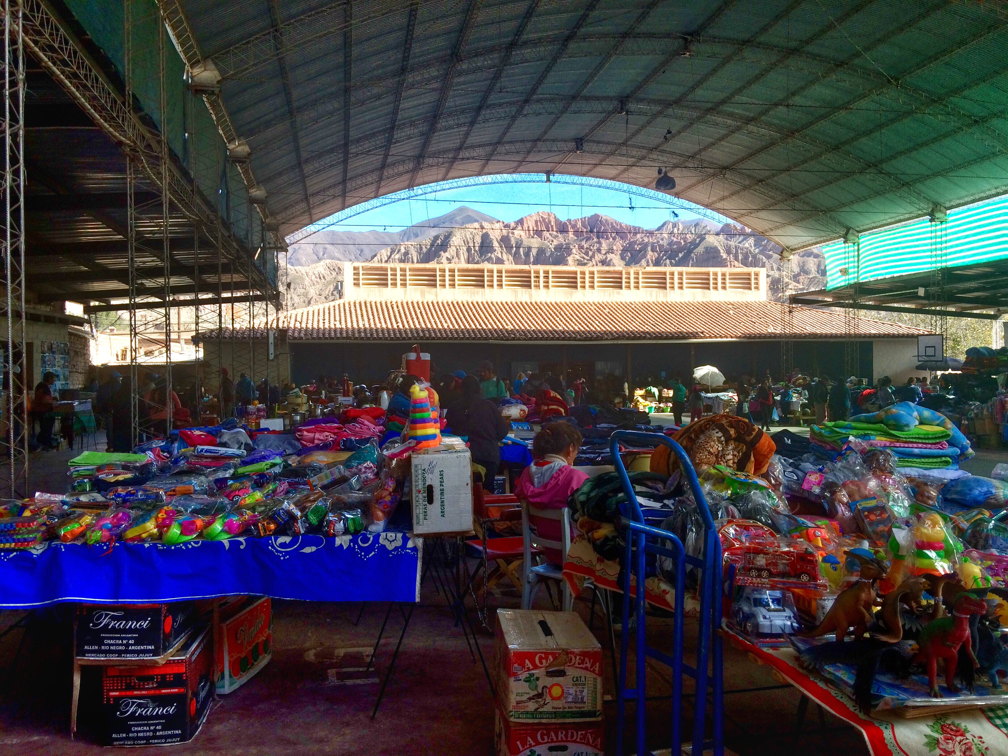 Tilcara market