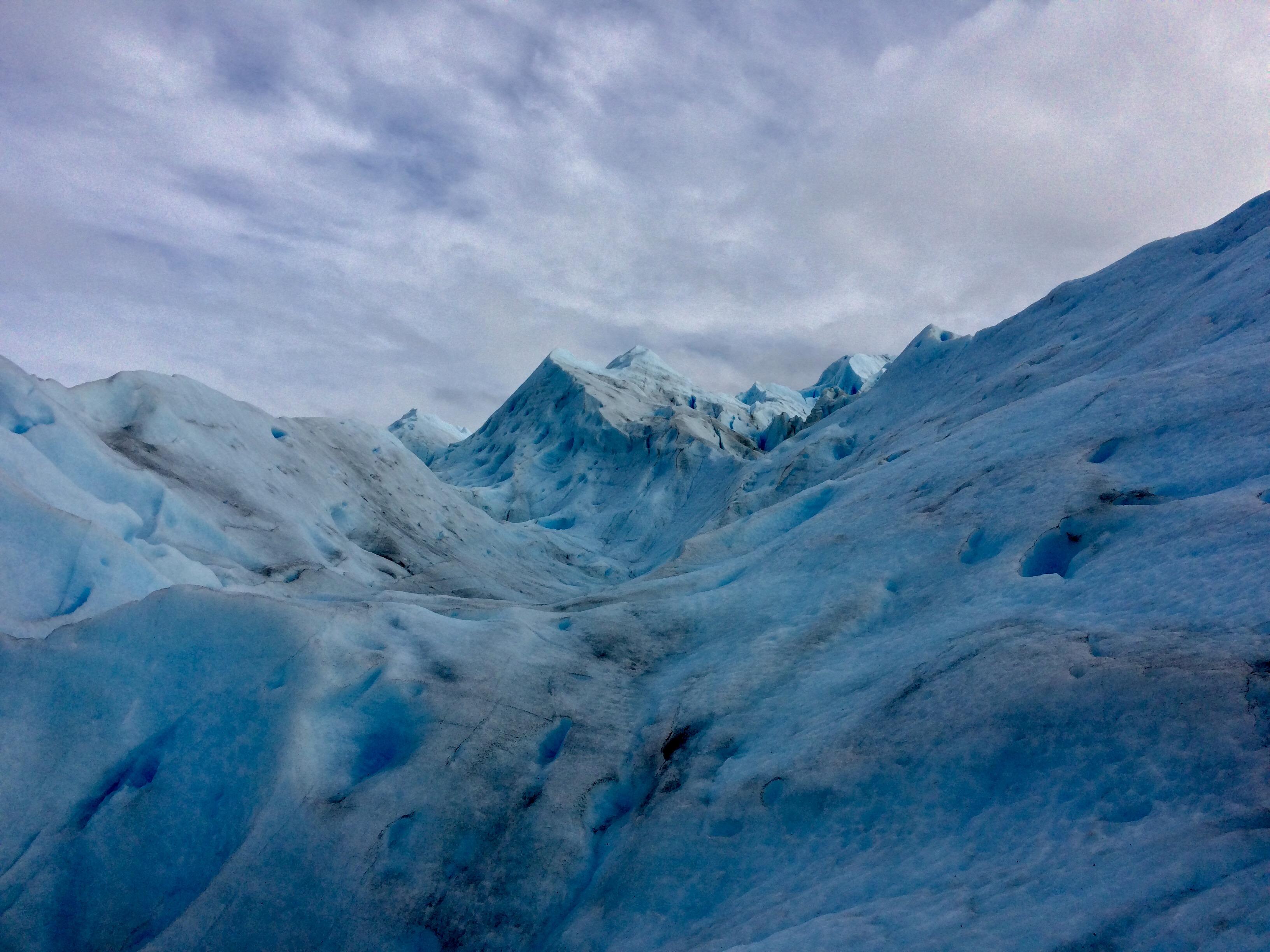 Perito glacier top