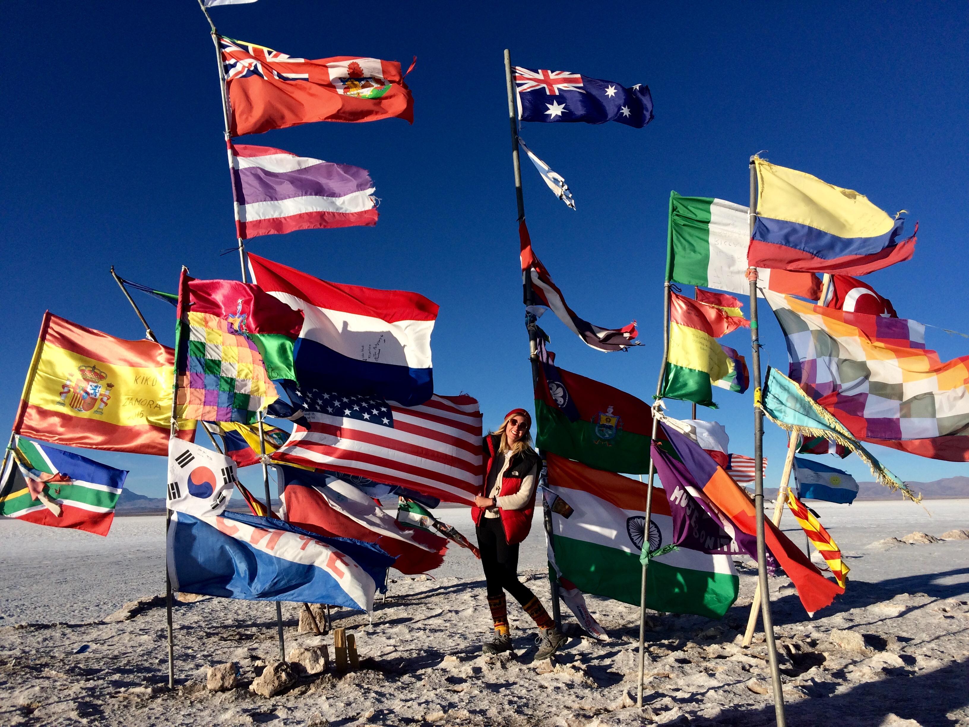 Salar flags