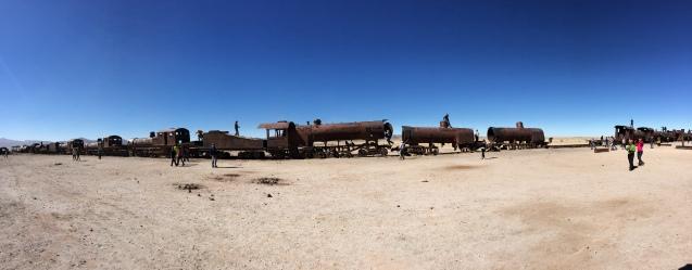 Salar train panorama