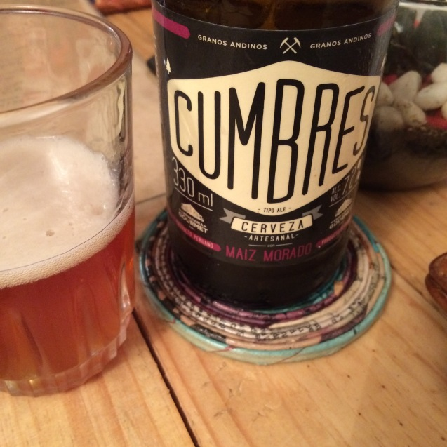 Cumbres beer