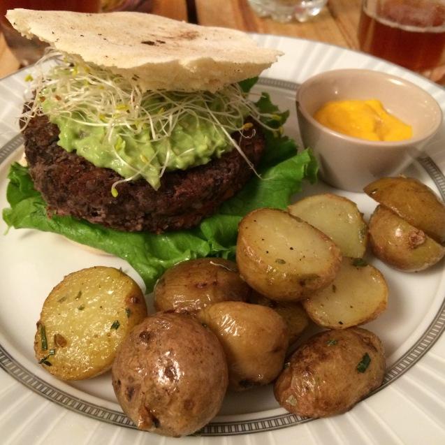 Lima veg burger