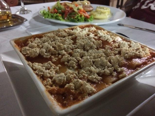 Cartagena vegan meal 2