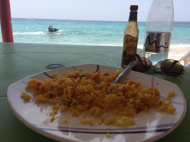 Playa blanca meal