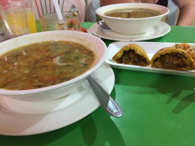 Santa Marta set meal 2