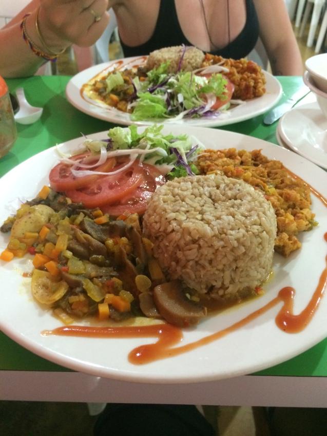 Santa Marta set meal