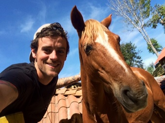 Ryan and horse