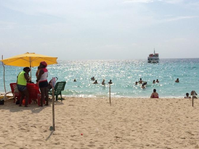 Colombia playa blanca
